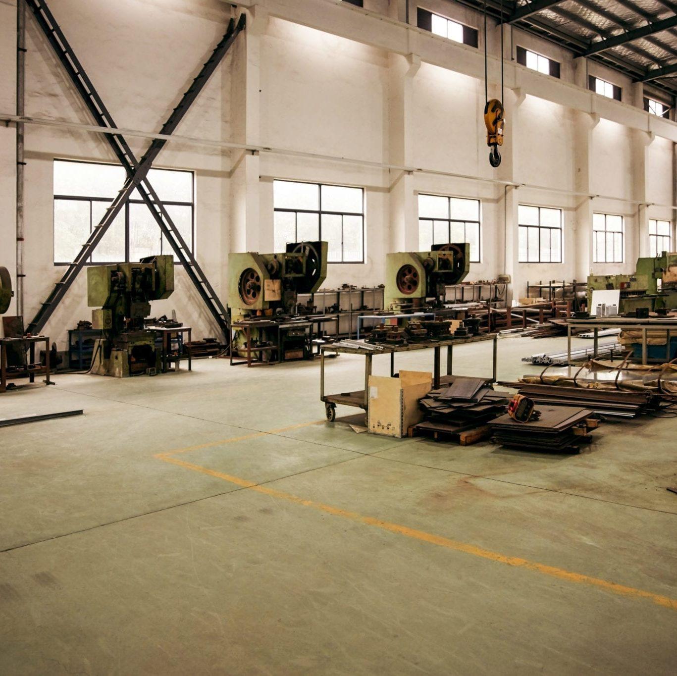 Pre-Fab Metal Warehouse
